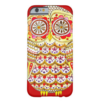 Funky Cute Retro Owl iPhone 6 case by Barely There iPhone 6 Case