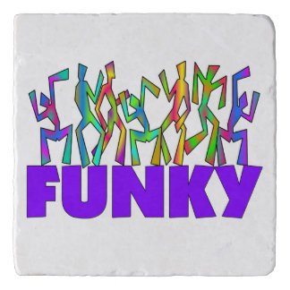 Funky Dancers Trivet