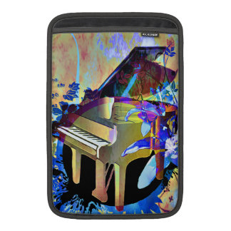 Funky Digitally Colored Piano Sleeves For MacBook Air