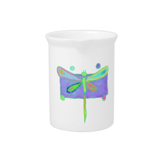 Funky Dragonfly Drink Pitchers