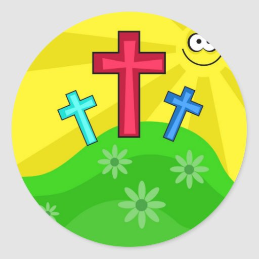 Funky Easter Stickers