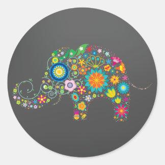 Funky Elephant Sticker
