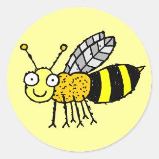 Funky Farm Honey Bee Sticker