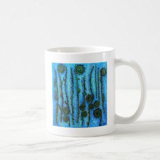 Funky Fiddlheads Coffee Mug