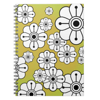 Funky Floral Notebook / Journal