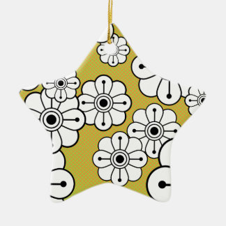 Funky Floral Ornament