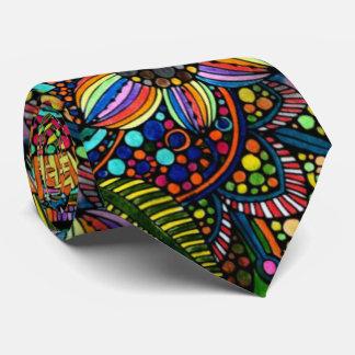 Funky Flowers Tie