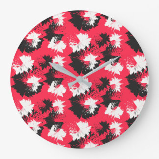 Funky Flows Large Clock