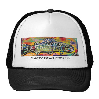 Funky Folk Fish #10 Cap