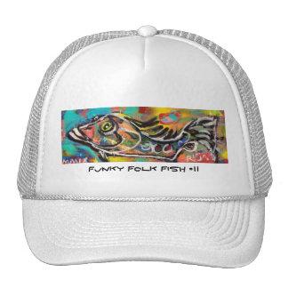 Funky Folk Fish #11 Cap