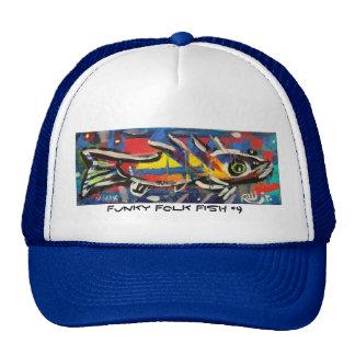 Funky Folk Fish #9 Cap