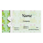 funky froggy frogs pack of standard business cards