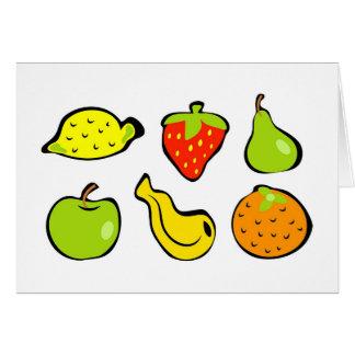 Funky Fruit Card