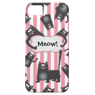 Funky fuzzy Kitty Cat iPhone4 case