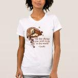 Funky Gandhi -Be the Change... Tee Shirts