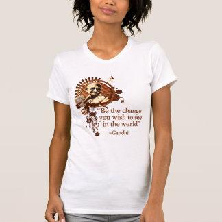 Funky Gandhi -Be the Change... Tees