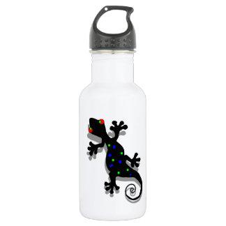 Funky Gecko Art 532 Ml Water Bottle
