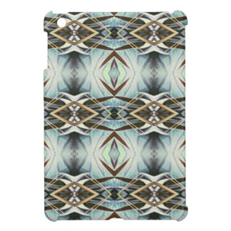 Funky Gray Pattern iPad Mini Cover
