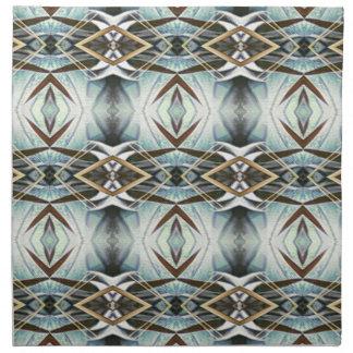 Funky Gray Pattern Napkin