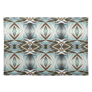 Funky Gray Pattern Placemat