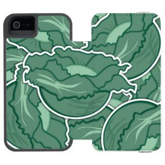 Funky green cabbage incipio watson™ iPhone 5 wallet case