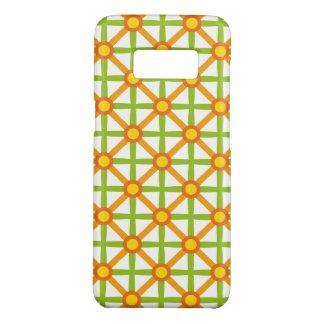 Funky Green & Orange Pattern Case-Mate Samsung Galaxy S8 Case