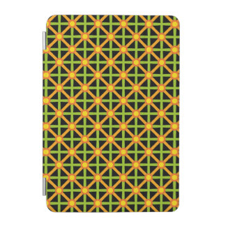 Funky Green & Orange Pattern iPad Mini Cover