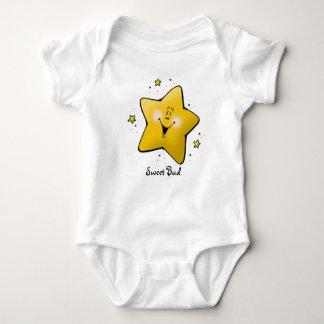 Funky Happy Star Sweet Bud Baby Creeper