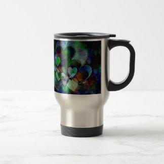 Funky Hearts Gift Mug