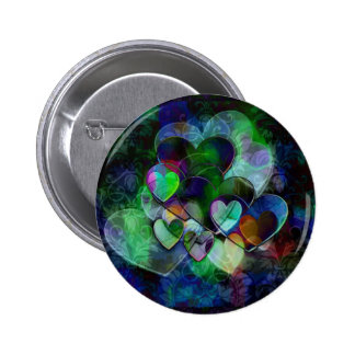 Funky Hearts Gift Pin