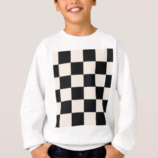 Funky Khaki Black Blocks Sweatshirt