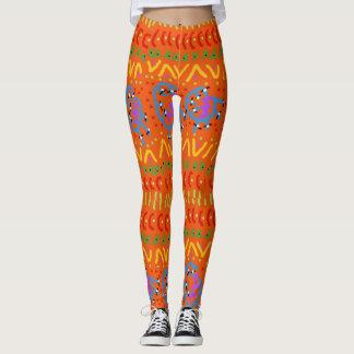Funky legs leggings