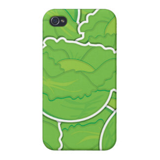 Funky lettuce iPhone 4 covers