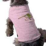 Funky Lime Purple Wedjet Doggie Tshirt