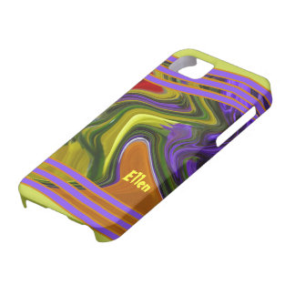 Funky Liquid Wave Barely There iPhone 5 Case