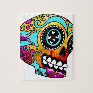 Funky Little Sugar Skulls by OneCuriousHuman Puzzles