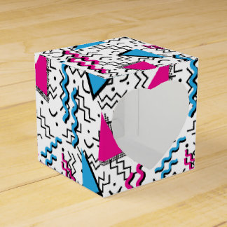 Funky Loud Memphis Design Favour Box
