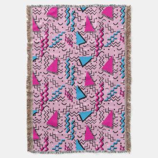 Funky Loud Pink Memphis Design