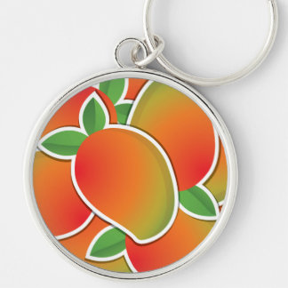 Funky mango key ring