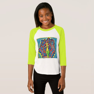 Funky mermaid shirt