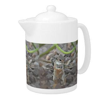 Funky Mikey Tea Pot