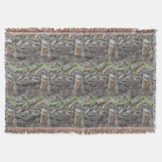 Funky Mikey Throw Blanket