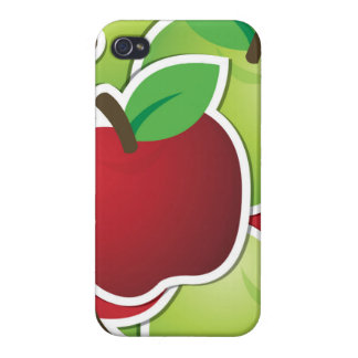 Funky mixed apples case for the iPhone 4