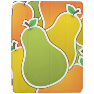 Funky mixed pear iPad cover
