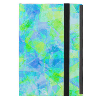 Funky Modern Retro Cool Polygon Mosaic Pattern iPad Mini Covers