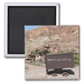 Funky Mojave Desert Magnet! Square Magnet