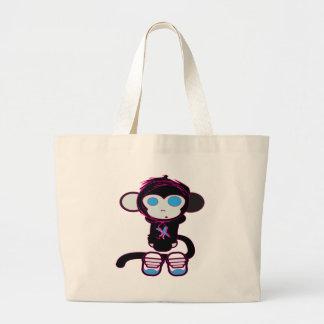 Funky Monkey by HusbandsRock Jumbo Tote Bag