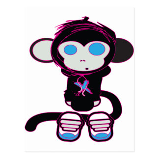 Funky Monkey by HusbandsRock Postcard