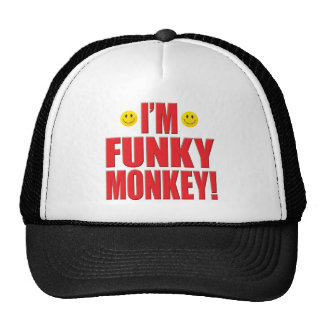 Funky Monkey Life Hats