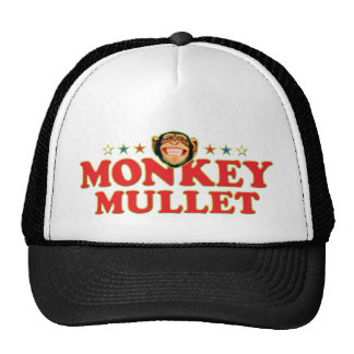 Funky Monkey Mullet Hats